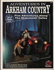 Portada Adventures in Arkham Country